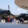 Warbirds TBM Avenger, left, and A-1 Skyraider at the the Andrews AFB Joint Services Open House, May 19, 2007.