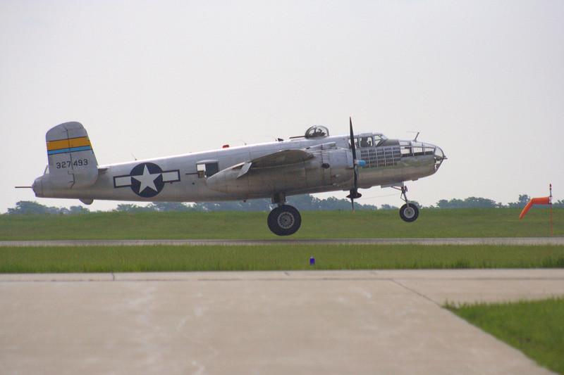 """WWII B25 Mitchell Bomber """"<i>Miss Mitchell</i>"""""""
