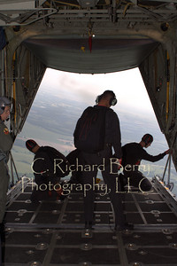 Positioning the aircraft (A C130 Hercules)