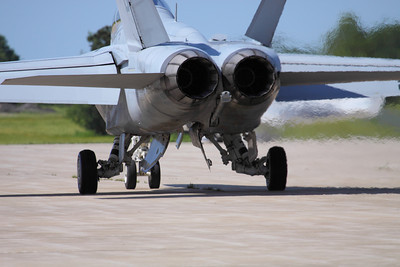 F/A-18 Super Hornet Exhaust