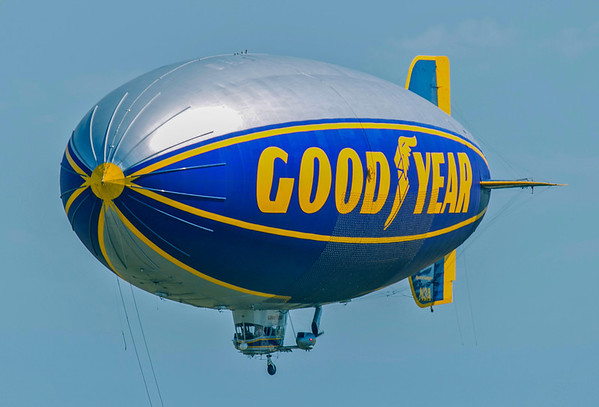 blimp fly-by