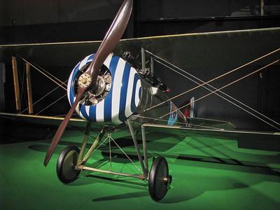 wood prop bi-wing