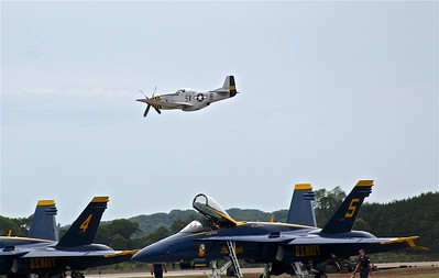 P-51 and F-18