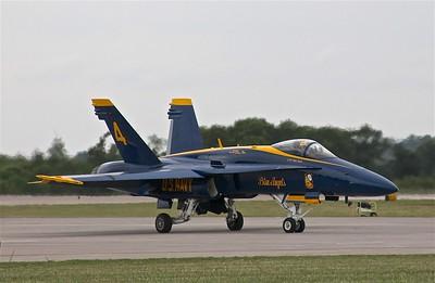 F-18 ....  Blue Angel