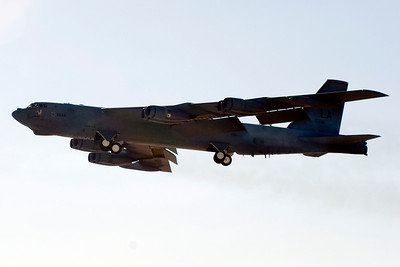 B-52 during take-off
