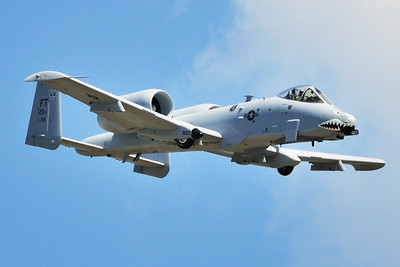 The A-10 Demo Team out of Moody AFB in Valdosta, GA performed at the show.