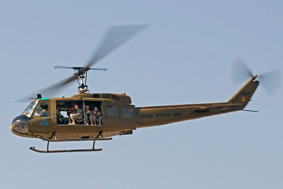 The Army Aviation Heritage Fountain's Sky Soldiers provided Huey helicopter rides during the show.