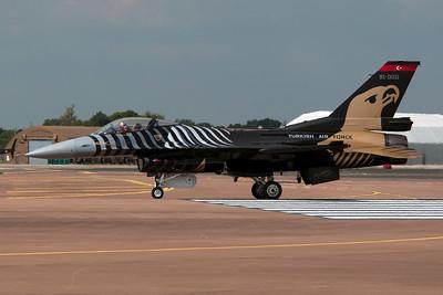 Turkish Air Force F-16 Demo Team