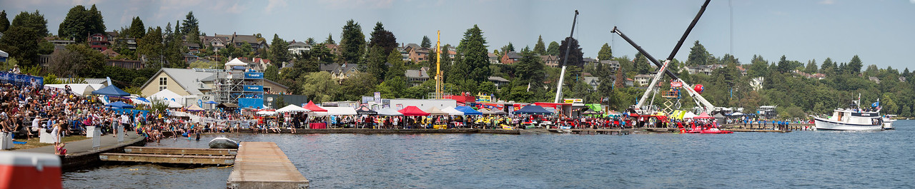 Stan Sayers Pits at Seafair