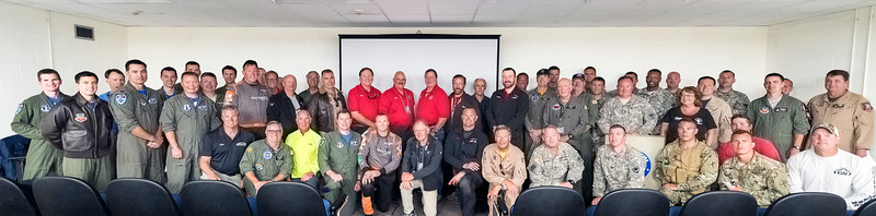 SC Guard Air & Ground Expo - Performer and Air Show Officials Group Photo