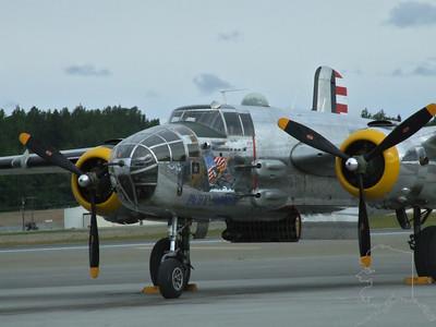 A few air shows at Elmendorf Air Force Base.