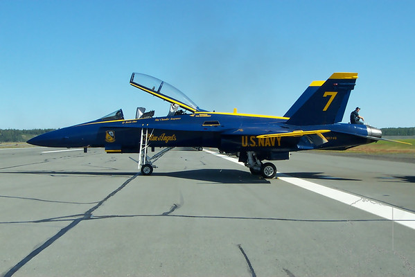 A few air shows at Elmendorf Air Force Base.