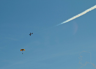 The United States Army Golden Knights Parachute Team