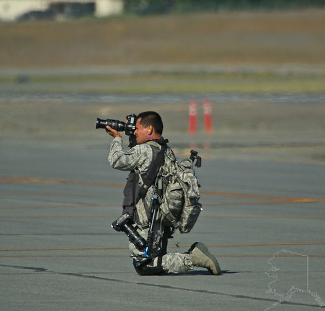 An army man that gets to enjoy photography Army stile.