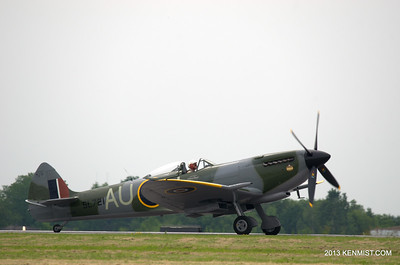 Spitfire from Vintage Wings of Canada