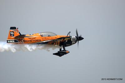 "MX-2 flown by ""Super"" Dave Mathieson"
