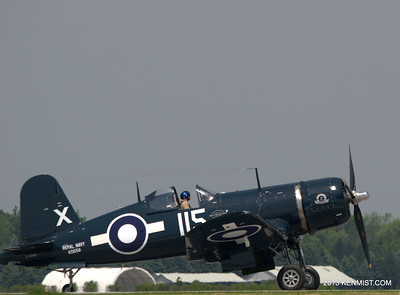 1945 Corsair FG 1D from Vintage Wings of Canada