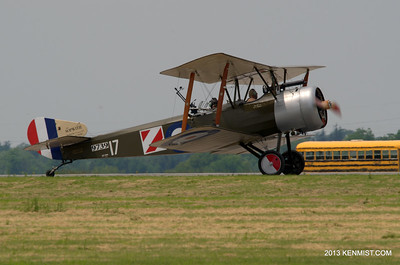 Sopwith 1 1/2 Strutter replica from Great War Flying Museum