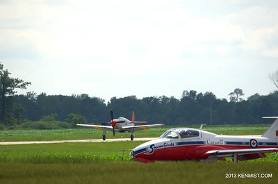 P-51C and Mustang