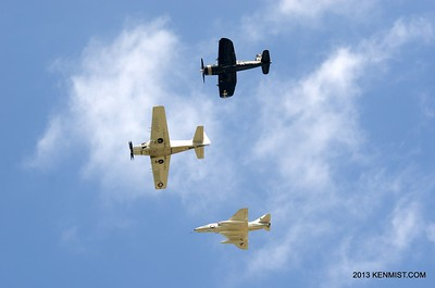 Skyraider, Skyhawk and Corsair