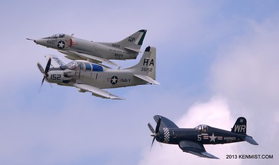 Skyraider, Corsair and Skyhawk