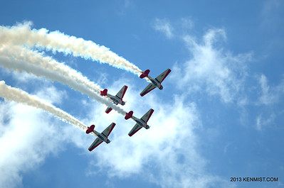 Aeroshell team at Dayton Air Show
