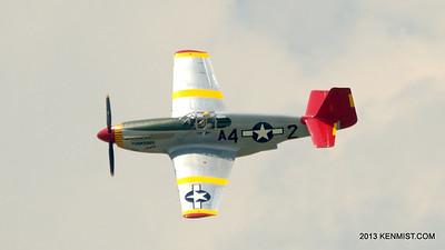 Bill Shepard and P-51C Mustang