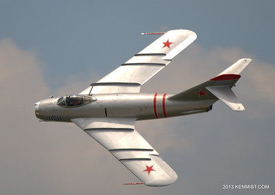 Randy Ball and the MiG 17