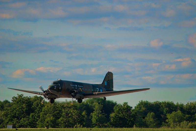 C-GDAK DC-3 Canadian Warplane Heritage Museum