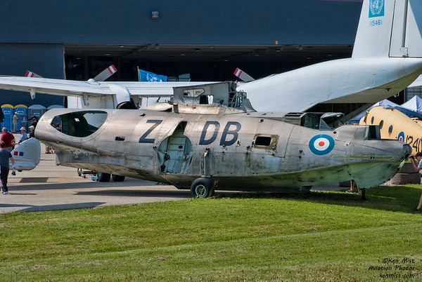 A little fixer-upper at the Canadian Warplane Heritage Museum 2015 SkyFest.  Canso.