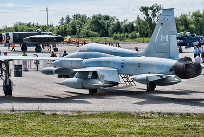 CF-5 Freedom Fighter at Canadian Warplane Heritage Museum 2015 SkyFest