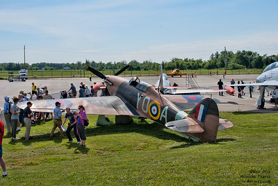 Hawker Hurricane replica at the Canadian Warplane Heritage Museum 2015 SkyFest