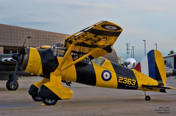 Canadian Warplane Heritage Museum Westland Lysander at 2015 SkyFest.