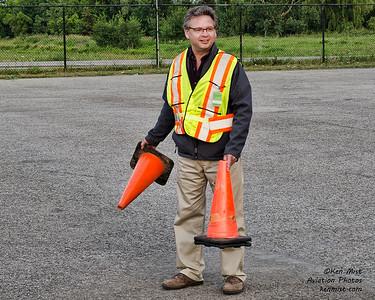 Al Mickeloff - master of the cones.