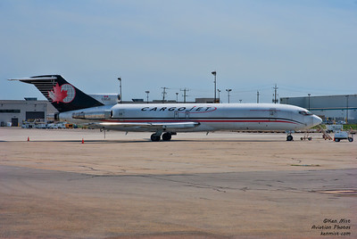 Boeing 727-225F in service with Cargojet.  Seen from the Canadian Warplane Heritage Museum 2015 SkyFest.