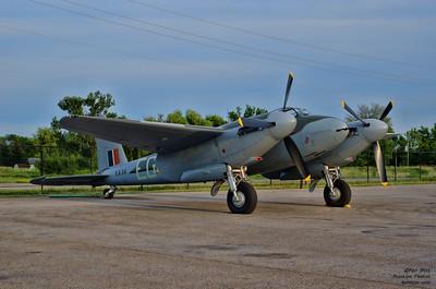 Military Aviation Museum de Havilland Mosquito at the Canadian Warplane Heritage Museum 2015 SkyFest.