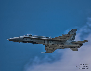 CF-18 Demo practice at the 2015 Rochester International Air Show
