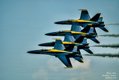U.S. Navy Blue Angels at the 2015 Rochester International Air Show