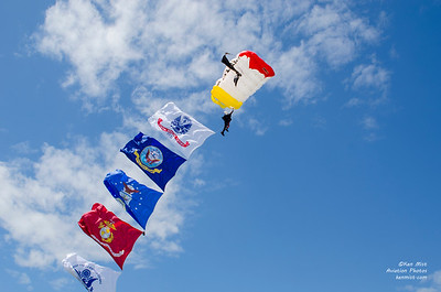 All Veterans Group Parachute Team