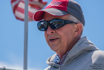 Rochester International Air Show announcer Bill Lowe.