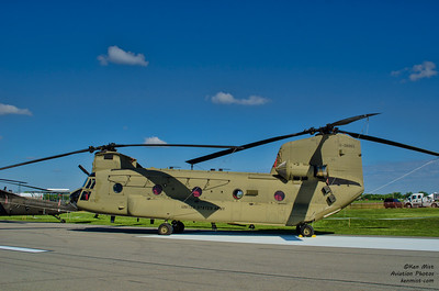 Boeing CH-47 Chinook at 2015 Rochester International Air Show.