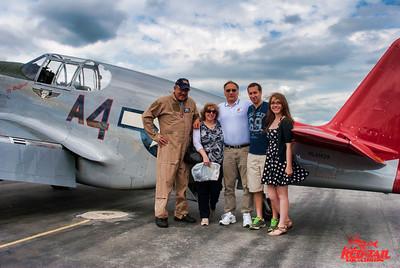 Bill Bacha and family at Reading PA