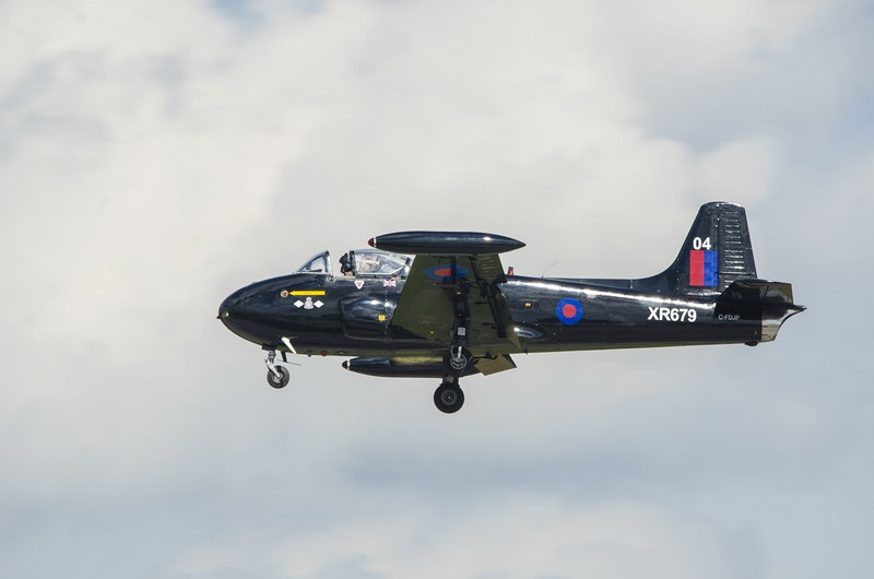 BAC Jet Provost from the Jet Aircaft Museum