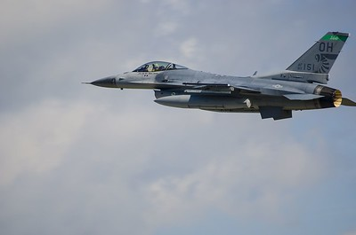 F-16 from Ohio ANG in Toledo