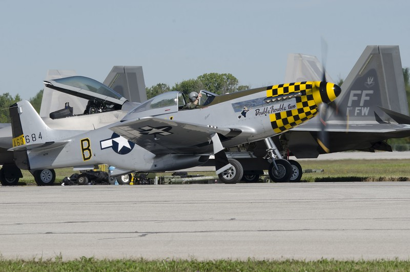 P-51D Mustang Double Trouble two