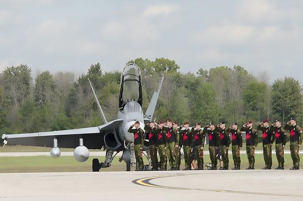 SkyHawks salute