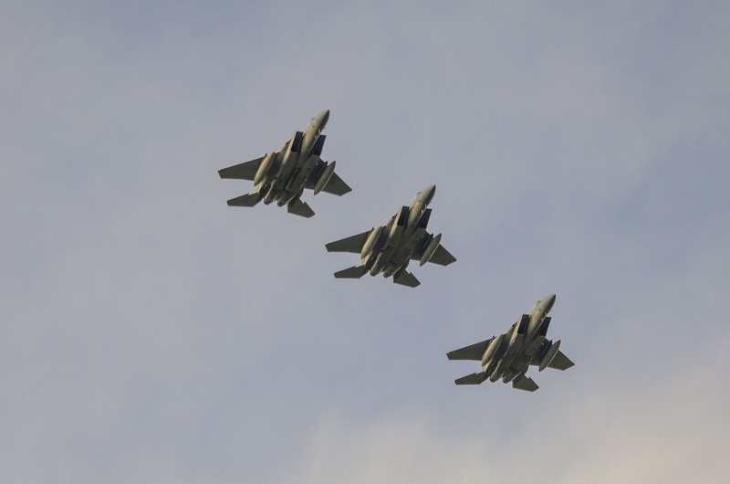 F-15s from Louisiana ANG