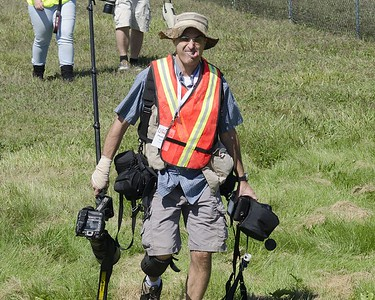 Photorapher Dave Mills traveling light