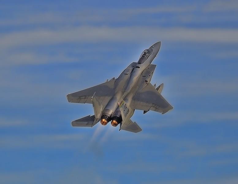F-15 ascending