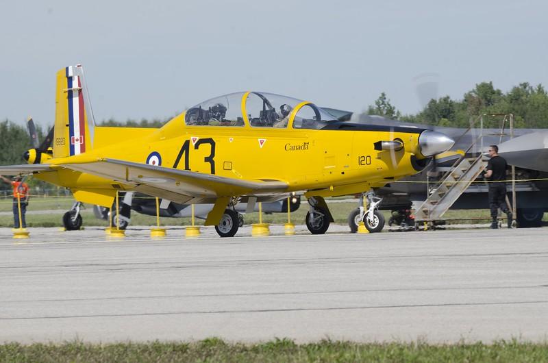 CT-156 Harvard II honoring British Commonwealth Air Training Plan (BCATP)